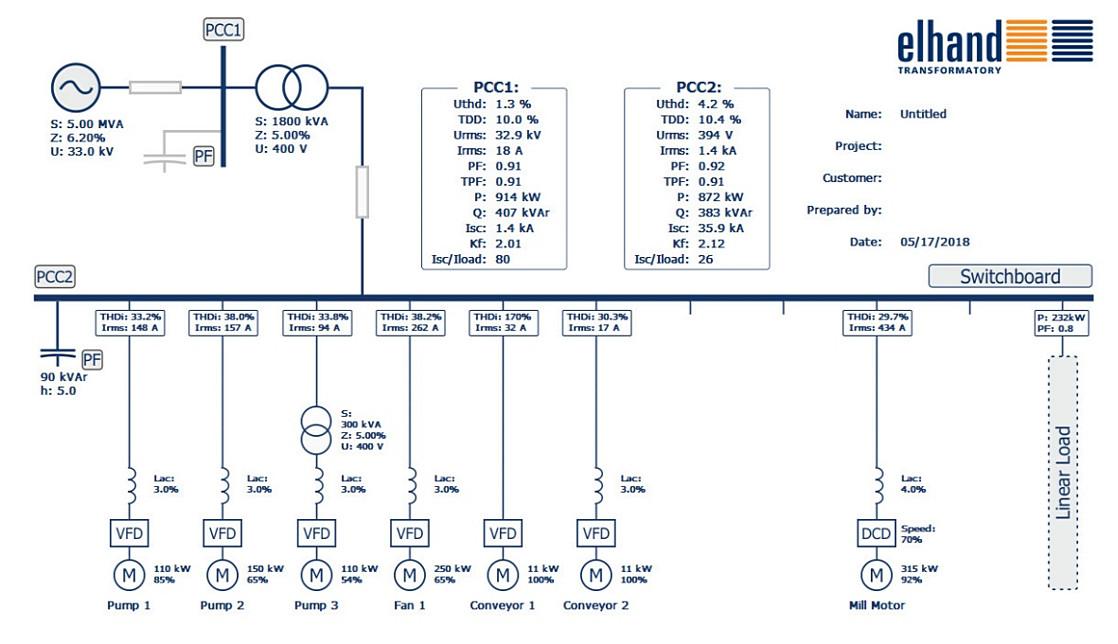Elhand pive filters - Harmonic Solutions on line reactor allen bradley, line driver wiring diagram, simple electric generator diagram, load reactor wiring diagram, single-line diagram, line and load wiring diagram,
